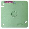 """<FONT size=1> <b>Diámetro Nominal :</b> 19 y 25mm ó 3/4 y 1"""". <br> <b>Tipo:</b> Tapa Cuadrada con Salida Redondoda. <br> <b>Color:</b> Verde. <br> <b>Material:</b> PVC. <br> <b>Aplicaciones:</b> Es ideal para para instalación eléctrica de casa habitación, multifamiliar, turística, industrial, institucional. <br> <b>Garantía:</b> 1 año. <br> <b>Fabricación:</b> 0 a 5 días hábiles. <br> </FONT>"""