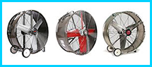 Explosion Proof Drum and Barrel Fans