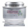 Uso industrial y comercial. Extracción de aire de campanas de cocina. Con dren. Polea y Banda. 1600 hasta 28180m3/hr. 1/4 hasta 5HP en 220/440V. 1/3HP en 127V. 100% Aluminio.