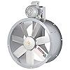 """<FONT size=1> <b>Caudal: </b>30503 m³/hr. <br> <b>Presión Estática: </b> 2.4""""cda ó 60 mmcda.<br> <b>Aspas: </b> 31""""Ø .<br> <b>Material Aspas: </b> Aluminio Fundido.<br> <b>Color: </b>Gris.<br> <b>Material Carcasa: </b> Acero.<br> <b>Color: </b>Gris.<br> <b>Acoplamiento: </b>Polea y banda.<br> <b>Motor: </b>5 HP. <br> <b>Voltaje: </b> 220/440V.<br> <b>Fases: </b> 3<br> <b>Uso: </b> Interior ó  Exterior.<br> <b>Temperatura: </b>Hasta 150 °C<br> <b>Nivel Sonoro: </b>79 dB.<br> <b>Acabado: </b> Pintura Electrostática.<br> <b>Flujo: </b> Inyector o Extractor. <br> <b>Aplicaciones: </b> Extrae o transporta calor, vapor, humo, olores, solventes, partículas de polvo y pelusa. Uso en cabinas de pintura, campanas industriales, atmosferas agresivas, tanques de electrolisis, torres de enfriamiento. <br> <b>Norma: </b>IVS. <br> <b>Garantía: </b> 1 año.<br> <b>Fabricación: </b> 0 a 45 días hábiles.<br> </FONT>"""