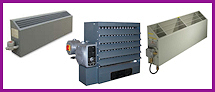 These heaters are specialty items for the explosion proof environment where the air can ignite or explode and cannot be exposed to incandescent objects.