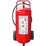 <FONT size=1> <b>Clases de Fuego:</b> A, B, C.<br> <b>Tipo:</b> PQS (Polvo Químico Seco).<br> <b>Compuesto:</b> Fosfato mono amónico y Sulfato de amonio.<br> <b>Capacidad:</b> 34, 50 y 68Kg.<br> <b>Aplicaciones:</b> Ideales para almacenes, fábricas con sitios de alto riesgo, gasolineras, bodegas, etc.<br> <b>Garantía:</b> 1 año.<br> <b>Fabricación:</b> 0 a 2 días hábiles.<br> </FONT>