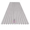 <FONT size=1> <b>Acabado:</b> Pintro.<br> <b>Material:</b> Acero.<br> <b>Color:</b> Blanco Ostión.<br> <b>Ancho:</b> 1m.<br> <b>Longitud:</b> 1m a 7.32m.<br> <b>Calibre:</b> 20 a 26.<br> <b>Grosor:</b> 1.9cm.<br> <b>Aplicaciones:</b> Es utilizado en Cubiertas Tradicionales, Techos, Bodegas con mediana capacidad estructural y de desagüe, Cubiertas y fachadas de granjas, graneros, almacenes, Cubiertas semicirculares, Depósitos cilíndricos.<br> <b>Garantía:</b> 1 año.<br> <b>Fabricación:</b> 0 a 4 días hábiles.<br> </FONT>