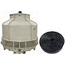 <FONT size=1> <b>Presión: </b> Baja. <br> <b>Toneladas: </b> 10 a 150. <br> <b>Temperatura: </b> 20 a 60°C. <br> <b>Flujo de Agua: </b> 7.81 a 117m3/h. <br> <b>Flujo de Aire: </b> 85 a 950CMM. <br> <b>Potencia del Motor: </b> 0.18 a 2.25KW. <br> <b>HP: </b> 1/4 a 3. <br> <b>Voltaje: </b> 220 a 440V.<br> <b>Amperes: </b> 64 a 32. <br> <b>Nivel Sonoro: </b> 47 a 60dB. <br> <b>Escalerilla: </b> Con y Sin.<br> <b>Aplicaciones: </b> Ideales para Industria alimenticia, hospitales, fábricas, hoteles, manufactureras, centros comerciales, etc. <br> <b>Norma: </b> NEMA. <br> <b>Garantía: </b> 1 año.<br> <b>Fabricación: </b> 0 a 30 días hábiles.<br> </FONT>