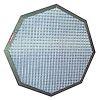 """<FONT size=1> <b>Material:</b> .<br> <b>Dimensiones:</b> 4x4x1"""" hasta 30x30x1"""".<br> <b>Calibre:</b> .<br> <b>Acabado:</b> Blanco o Cromado.<br> <b>Aplicaciones:</b> Complemento a cualquier sistema de extracción de aire, como sistema de ingestión estático.<br> </FONT>"""