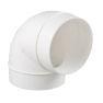 <FONT size=1> <b>Diámetro Nominal :</b> 40 hasta 200mm.<br> <b>Tipo:</b> Codo 90°.<br> <b>Color:</b> Blanco.<br> <b>Material:</b> PVC.<br> <b>Norma:</b> NMX-E-199/1-SCFI-1998.<br> <b>Aplicaciones:</b> Es ideal para instalarse entre las dos longitudes de un tubo para permitir un cambio de dirección.<br> <b>Garantía:</b> 1 año.<br> <b>Fabricación:</b> 0 a 5 días hábiles.<br> </FONT>