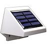 <FONT size=1> <b>Color de la Luz: </b> Blanco Frío y Blanco Cálido <br> <b>Watts: </b> 0.26 <br> <b>Celda Solar: </b> Si <br> <b>Fuente de Luz: </b> Bombillas LEd <br> <b>Tensión: </b> 6V <br> <b>Nivel de Protección: </b> IP54 <br> <b>Cantidad de Led: </b> 4 <br> <b>Lúmenes: </b>  <br> <b>Material: </b> ABS <br> <b>Batería: </b> Sin  <br> <b>Batería Tipo: </b> Ni-MH, Niquel-Metal <br> <b>Batería Carga: </b> N/A  <br> <b>Tiempo de carga: </b> 4 a 5Hrs <br> <b>Tiempo de trabajo: </b> 6 a 8Hrs <br> <b>Ángulo de inducción: </b> 90° <br> <b>Tipo de Sensor: </b> Foto Celda <br> <b>Distancia de detección: </b> N/A <br> <b>Color: </b> Blanco <br> <b>Aplicaciones: </b> Restaurantes, hoteles, oficinas, comercios, entre otros <br> <b>Garantía: </b> 1 año <br> <b>Fabricación: </b> Disponible <br> </FONT>