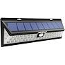 <FONT size=1> <b>Color de la Luz: </b> Blanco Frío <br> <b>Watts: </b> 1.32 <br> <b>Celda Solar: </b> Si <br> <b>Fuente de Luz: </b> Bombillas LEd <br> <b>Tensión: </b> 6V <br> <b>Nivel de Protección: </b> IP65 <br> <b>Cantidad de Led: </b> 54 <br> <b>Lúmenes: </b> 1188 <br> <b>Material: </b> ABS <br> <b>Batería: </b> Con  <br> <b>Batería Tipo: </b> Li, Litio  <br> <b>Batería Carga: </b> 2200 mAh <br> <b>Tiempo de carga: </b> 4 a 6Hrs <br> <b>Tiempo de trabajo: </b> 8Hrs <br> <b>Ángulo de inducción: </b> 120 <br> <b>Tipo de Sensor: </b> Movimiento <br> <b>Distancia de detección: </b> 3m <br> <b>Color: </b> Negro <br> <b>Aplicaciones: </b> Ideales para jardines, patios, gimnasios, entre otros <br> <b>Garantía: </b> 1 año <br> <b>Fabricación: </b> 0 a 15 <br> </FONT>