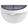 <FONT size=1> <b>Color de la Luz: </b> Blanco Frío <br> <b>Watts: </b> 0.26 <br> <b>Lm: </b> 6 <br> <b>Celda Solar: </b> Si <br> <b>Fuente de Luz: </b> Bombillas LEd <br> <b>Tensión: </b> 2V <br> <b>Nivel de Protección: </b> IP55 <br> <b>Cantidad de Led: </b> 6 <br> <b>Lúmenes: </b> 6 <br> <b>Material: </b> Eco-friendly ABS,PC <br> <b>Batería: </b> Con  <br> <b>Batería Tipo: </b> Ni-MH, Niquel-Metal  <br> <b>Batería Carga: </b> 1.2 V/1000 mA <br> <b>Tiempo de carga: </b> 8Hrs <br> <b>Tiempo de trabajo: </b> 8Hrs <br> <b>Ángulo de inducción: </b> 90° <br> <b>Tipo de Sensor: </b> Foto Celda <br> <b>Distancia de detección: </b> N/A <br> <b>Color: </b> Blanco <br> <b>Aplicaciones: </b> Escaleras, caminos, entradas, patios, pasillos, paredes, entre otros <br> <b>Garantía: </b> 1 año <br> <b>Fabricación: </b> 0 a 13 <br> </FONT>