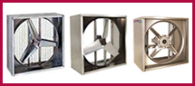Industrial Exhaust Wall Fans