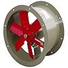 """<FONT size=1> <b>Caudal: </b>7136 hasta 31814 m³/hr. <br> <b>Presión Estática: </b>hasta 1.9"""" cda ó 48 mmcda. <br> <b>Aspas: </b> 16, 20, 24 y 26""""Ø .<br> <b>Material Aspas: </b> Aluminio Inyectado.<br> <b>Color: </b>Rojo.<br> <b>Material Carcasa: </b> Acero al carbón .<br> <b>Color: </b>Azul.<br> <b>Acoplamiento: </b>Directo.<br> <b>Motor: </b>1/2 hasta 2 HP. <br> <b>Voltaje: </b> 220/440V.<br> <b>Fases: </b> 3<br> <b>Uso: </b> Interior ó  Exterior.<br> <b>Temperatura: </b>Hasta 120 °C<br> <b>Nivel Sonoro: </b>74 hasta 89 dB.<br> <b>Acabado: </b> Pintura Electrostática.<br> <b>Flujo: </b> Inyector o Extractor. <br> <b>Aplicaciones: </b>Proyección directa y localizada de aire limpio, seco y frío en procesos comerciales e industriales, torres de enfriamiento, extracción de humo, gases en estacionamientos, etc.. <br> <b>Garantía: </b> 1 año.<br> <b>Fabricación: </b> 0 a 6 días hábiles.<br> </FONT>"""