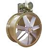"""<FONT size=1> <b>Caudal: </b>13252 hasta 53349m³/hr. <br> <b>Presión Estática: </b> hasta 2"""" cda ó 50 mmcda <br> <b>Aspas: </b> 30 y 42""""Ø .<br> <b>Material Aspas: </b> Aluminio Inyectado.<br> <b>Color: </b>Blanco.<br> <b>Material Carcasa: </b> Acero al carbón .<br> <b>Color: </b>Azul.<br> <b>Acoplamiento: </b>Polea y banda.<br> <b>Motor: </b>1 hasta 7.5 HP. <br> <b>Voltaje: </b> 220/440V.<br> <b>Fases: </b> 3<br> <b>Uso: </b> Interior ó  Exterior.<br> <b>Temperatura: </b>Hasta 120 °C<br> <b>Nivel Sonoro: </b>67 hasta 85 dB.<br> <b>Acabado: </b> Pintura Electrostática.<br> <b>Flujo: </b> Inyector o Extractor. <br> <b>Aplicaciones: </b> Para procesos industriales, campanas de extracción, cabinas de pintura, extracción de humo, impulsión de aire en conductos, torres de enfriamiento. <br> <b>Norma: </b> NEMA.<br> <b>Garantía: </b> 1 año.<br> <b>Fabricación: </b> 0 a 10 días hábiles.<br> </FONT>"""