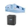 <FONT size=1> <b>Tipo de Unidad:</b> Fan and Coil.<br> <b>Capacidad:</b> 1.5 a 5 Toneladas ó 18000 a 60000 BTUs.<br> <b>Gas Refrigerante:</b> R-410A.<br> <b>Acondicionamiento:</b> Sólo Frío.<br> <b>Eficiencias:</b> 13SEER<br> <b>Voltaje:</b> 220V.<br> <b>Fases:</b> 1F.<br> <b>Ciclos:</b> 60Hz.<br> <b>Aplicaciones:</b> Moteles, centros educativos, hospitales, tiendas comerciales, consultorios, etc.<br> <b>Garantía:</b> 1 año.<br> <b>Fabricación:</b> 0 a 6 días hábiles.<br> </FONT>