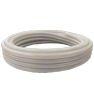 """<FONT size=1> <b>Material:</b> PVC-P (Vinilo).<br> <b>Diámetro:</b> 1 a 4"""".<br> <b>Longitud:</b> 30 m.<br> <b>Presión:</b> 50 a 100 PSI.<br> <b>Temperatura:</b> 5 a 60°C.<br> <b>Color:</b> Blanco Transparente.<br> <b>Flexibilidad:</b> Media. <br> <b>Rigidez :</b> Alta.<br> <b>Resistencia de Succión: </b> Alta. <br> <b>Resistencia Abrasión: </b> Alta.<br> <b>Aplicaciones:</b> Transporte de alimentos, jugos, mermeladas, vinos, lácteos, refrescos bebidas gaseosas, alcohólicas de baja concentración,   agua desionizada, potable, etc.   <br> <b>Garantía:</b> En base al Uso.<br> <b>Fabricación:</b> 0 a 3 días hábiles.<br> </FONT>"""