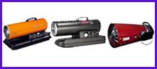 Calefactores Industriales Tipo Bazooka