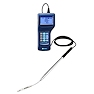 <FONT size=1><br> <b>Anemometer Type:</b> Telescopic Hot Wire Anemometer with Volume Flow Rate Reading<br> <b>Anemometer Tips:</b> Model 6036: Telescopic with Articulating Tip; Model 6035 Telescopic Straight Tip<br> <b>Air Velocity Range:</b> 2 to 6000FPM, 0.01 to 30m/s<br> <b>Air Temperature Range::</b> -4°F to 158°F, -20°C to 70°C<br> <b>Accuracy:</b>+/- 3% of Air Velocity reading; +/- 1°F/0.5°C of Air Temperature reading<br> <b>Duct Sizes:</b> from 0 to 255 Inches<br> <b>Power Supply:</b> 6 AA Alkaline Batteries<br> <b>Data Storage:</b> 1500 readings on the 6036 model, n/a on 6035 model<br> <b>Data Output:</b> DC 0 to 3 V (only for air velocity measurements), USB and RS232C (for print-out) on Model 6036, and RS232C (for print-out) on Model 6035<br> <b>Software:</b> Windows Software available on 6036 Model Only<br> <b>Warranty:</b> 1 year<br> </FONT>