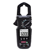 <FONT size=1> <b>AC Voltaje:</b> 600V <br> <b>DC Voltaje:</b> 600A;<br> <b>Resistencia:</b> 60 kO <br> <b>ACA Frecuencia:</b> 50-400 Hz <br> <b>Funciones:</b> Corriente CA/CD, Voltaje CA/CD, Resistencia, Capacidad, Frecuencia, Prueba de Diodo, Ciclo de Trabajo y Continuidad. <br> <b>Escalas:</b> Voltaje CA, Resistencia, Temperatura y Frecuencia. <br> <b>Precisión:</b>  ± 2.0% <br> <b>Apertura de Tenaza:</b> 30mm <br> <b>Color:</b> Negro <br> <b>Aplicaciones:</b> Departamentos de Mantenimiento, Industrias, Fábricas, Máquinas, Residencias, Escuelas, Hospitales, Comercios, Edificios, Laboratorios, Bodegas, etc.<br> <b>Batería:</b> 2 x AAA <br> <b>Garantía:</b> 1 año. <br> <b>Fabricación:</b> 0 a 20 días hábiles. <br> </FONT>