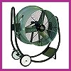 We manufacture and sell Indoor and Outdoor High Speed Fans. Our High Speed Fans are capable of blowing air up to 100 feet away. The High Speed Fans have a variety of mounting solutions such as Pedestal Mounts, Wall Mounts, Post Mount, Ceiling Mounts, or I Beam Mounts, and Dolly Mount. Our High Speed Fans are available in Oscillating and none Oscillating designs.